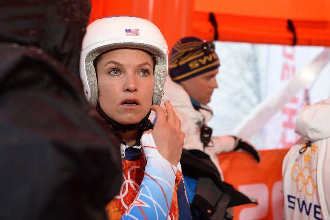 Американская горнолыжница Джулия МАНКУЗО. Фото AFP