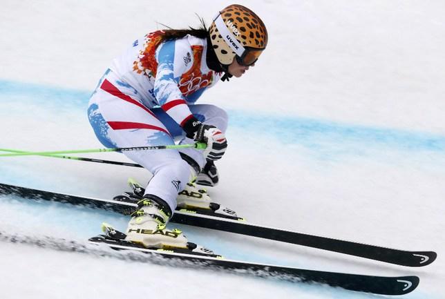 Австрийская спортсменка Анна ФЕННИНГЕР. Фото Reuters