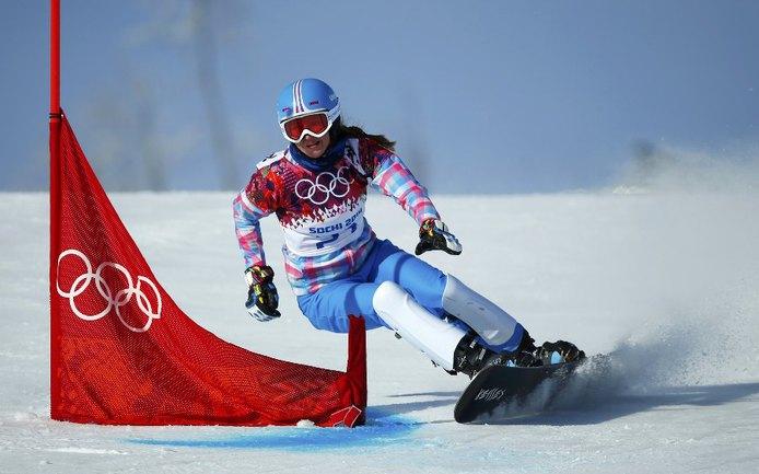 Сноубордистка Алена ЗАВАРЗИНА. Фото Reuters