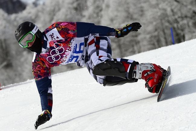 Сноубордист Андрей СОБОЛЕВ. Фото AFP