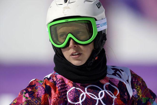 Сноубордистка Наталья СОБОЛЕВА Фото AFP
