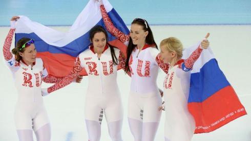 Россия выиграла бронзу  в женской командной гонке преследования