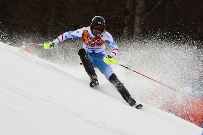 Австрийский горнолыжник Марио МАТТ Фото AFP