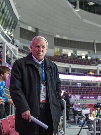 Глава экспертного совета ФХР Борис МАЙОРОВ. Фото Юрий ГОЛЫШАК