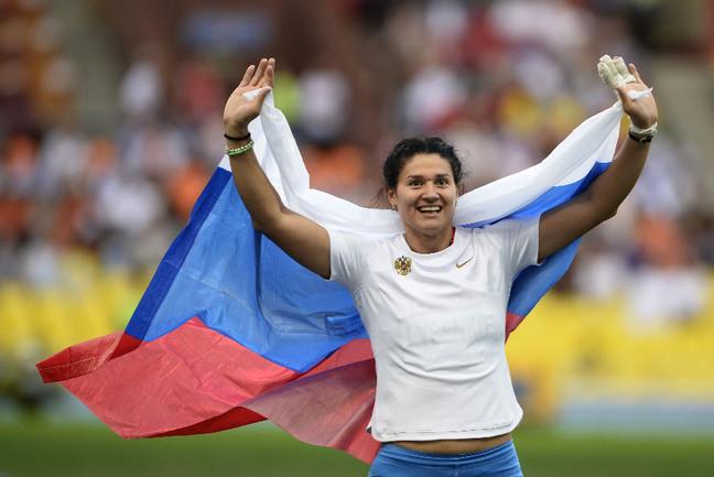 Олимпийская чемпионка в метании молота Татьяна ЛЫСЕНКО. Фото Reuters