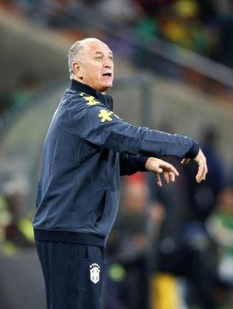 Главный тренер сборной Бразилии Луиз Фелипе СКОЛАРИ. Фото Reuters
