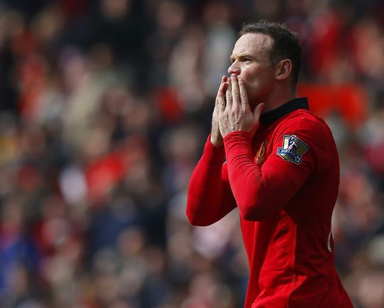 "Нападающий ""Манчестер Юнайтед"" Уэйн РУНИ Фото Reuters"