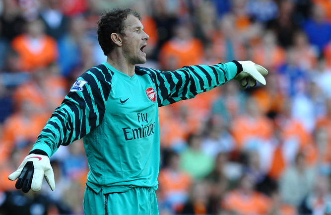 """Бывший вратарь """"Арсенала"""" Йенс ЛЕМАНН Фото Reuters"""