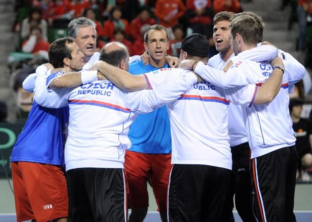Сегодня. Токио. Чехия - в полуфинале Кубка Дэвиса. Фото AFP