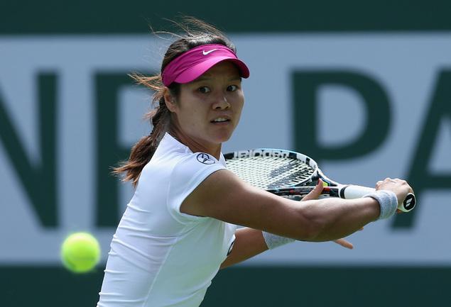 Китаянка Ли НА. Фото AFP