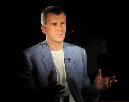 Президент СБР Михаил ПРОХОРОВ. Фото Татьяна ДОРОГУТИНА, «СЭ»