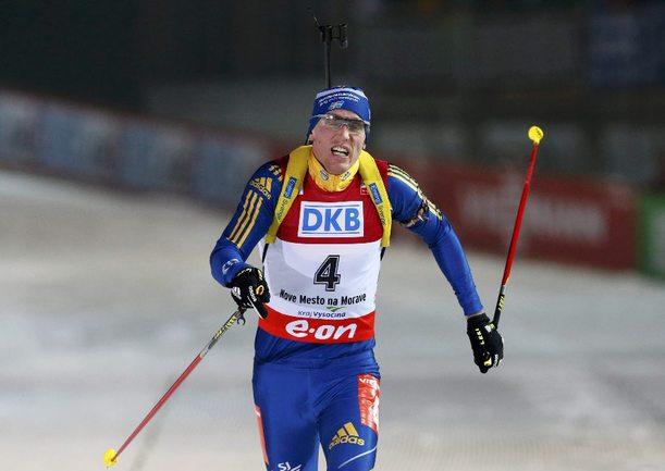 Олимпийский чемпион Бьорн ФЕРРИ. Фото AFP