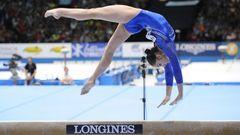 В отдельных видах Мустафина завоевала на чемпионате России лишь одну бронзу Фото AFP