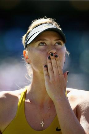 Теннисистка Мария ШАРАПОВА Фото AFP