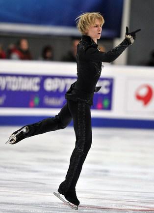 Серебряный призер чемпионата Европы-2012 Артур ГАЧИНСКИЙ. Фото AFP