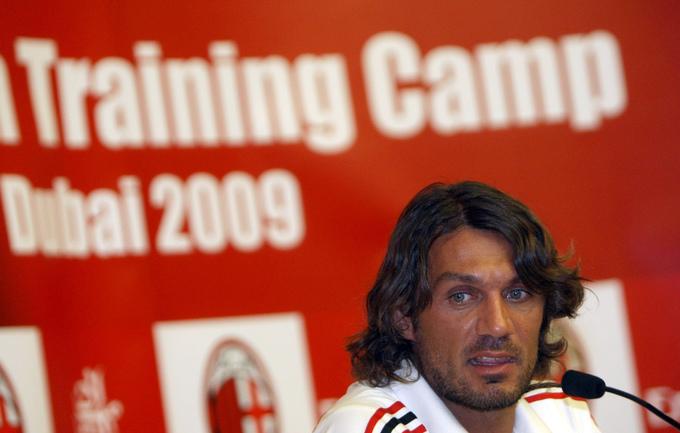 Легендарный итальянский защитник Паоло МАЛЬДИНИ Фото AFP