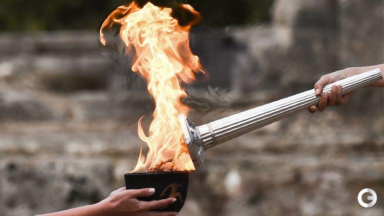 Сегодня. Греция. Церемония зажжения олимпийского огня.