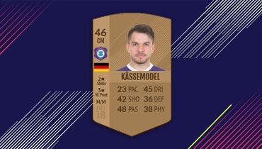 Карточка Томми Кесемоделя в FIFA 18.