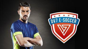 Логотип команды DV7 E-Soccer. Фото twitter.com/dv7esoccer