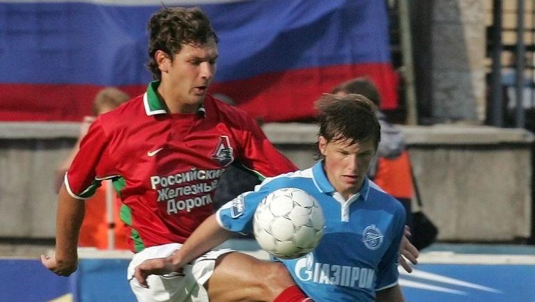 Дмитрий СЕННИКОВ (слева) и Андрей АРШАВИН. Фото Александр ВИЛЬФ