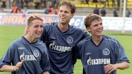 2003 год. Игорь ДЕНИСОВ (справа), Владислав РАДИМОВ (в центре) и Владимир БЫСТРОВ.