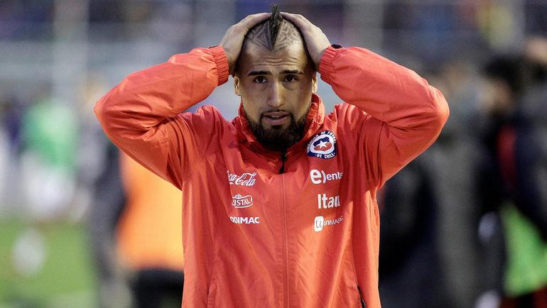 Артуро ВИДАЛЬ не смог помочь сборной Чили квалифицироваться на ЧМ-2018. Фото REUTERS