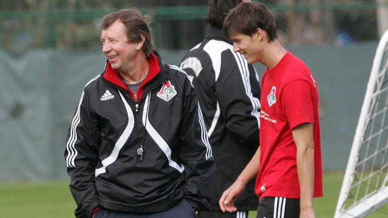 Юрий СЕМИН (слева) и Дмитрий ПОЛОЗ. Фото Татьяна ДОРОГУНИНА