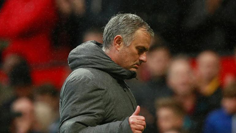 """Вчера. Манчестер. """"Манчестер Юнайтед"""" - """"Тоттенхэм"""" - 1:0. Жозе МОУРИНЬЮ продолжает погоню за """"Манчестер Сити"""". Фото AFP"""