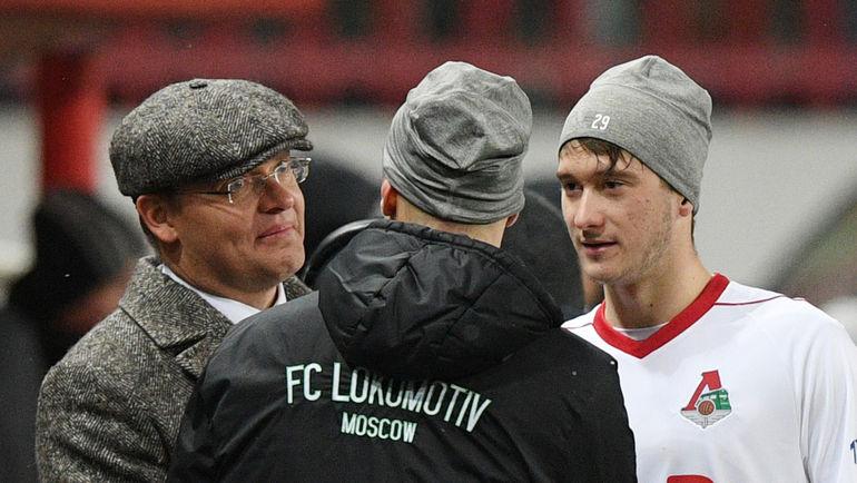 """Илья ГЕРКУС (слева) и АЛексей МИРАНЧУК (справа). Фото Александр ФЕДОРОВ, """"СЭ"""""""