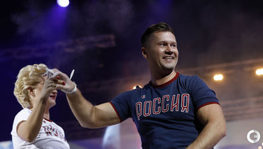 Звезды мировой гимнастики на шоу Алексея Немова