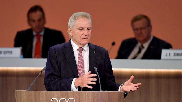Глава комиссии МОК Денис ОСВАЛЬД. Фото AFP