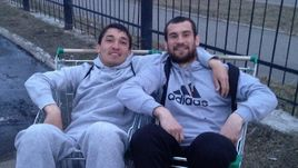 Ибрагим БАЗАЕВ (слева), Игорь БАЛДИН.
