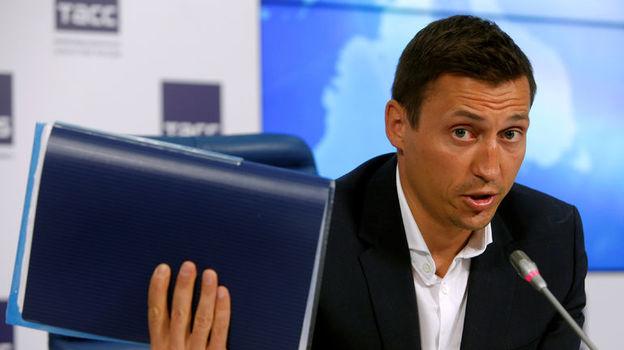 Александр ЛЕГКОВ будет лишен медалей Сочи? Фото Reuters