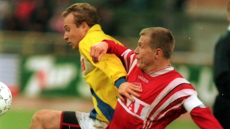 "Сергей ГОРЛУКОВИЧ (справа). Фото Александр ФЕДОРОВ, ""СЭ"""