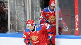 Олимпиада может пройти не только без игроков НХЛ, но и звезд КХЛ. Например, Павла ДАЦЮКА (№13) и Ильи КОВАЛЬЧУКА.