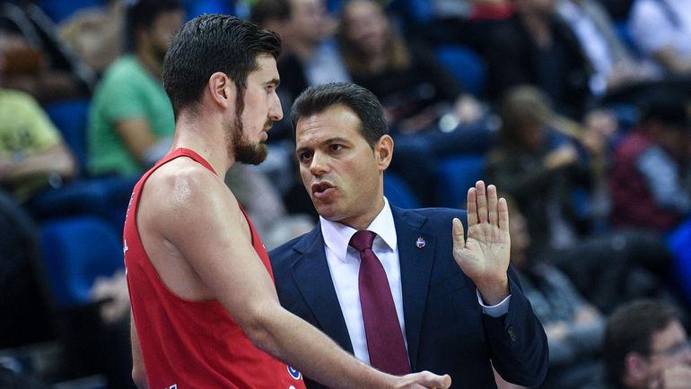 """Нандо ДЕ КОЛО (слева) и Димитрис ИТУДИС. Фото Дарья ИСАЕВА, """"СЭ"""""""
