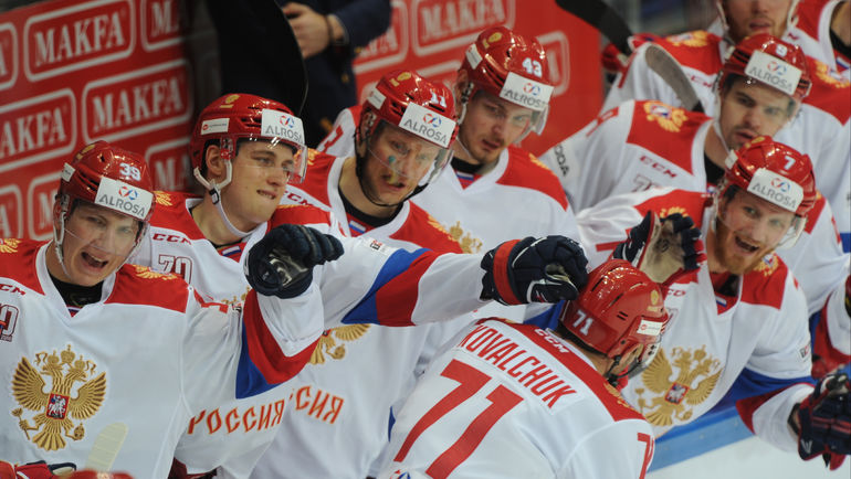 Сыграе ли сборная России на Олимпиаде в Корее? Фото Александр ФЕДОРОВ, «СЭ»
