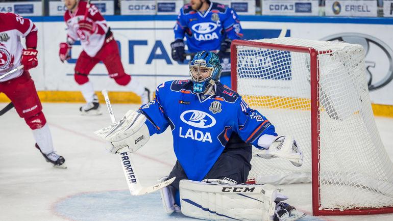 "Александр ЛАЗУШИН. Фото ХК ""Лада""/hclada.ru"