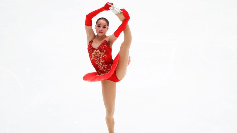 """Сегодня. Пекин. Алина ЗАГИТОВА стала победительницей китайского этапа """"Гран-при"""". Фото REUTERS"""