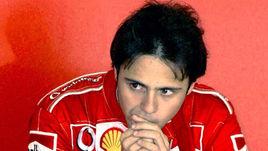 """Фелипе МАССА готовится к первой гонке в составе """"Феррари""""."""