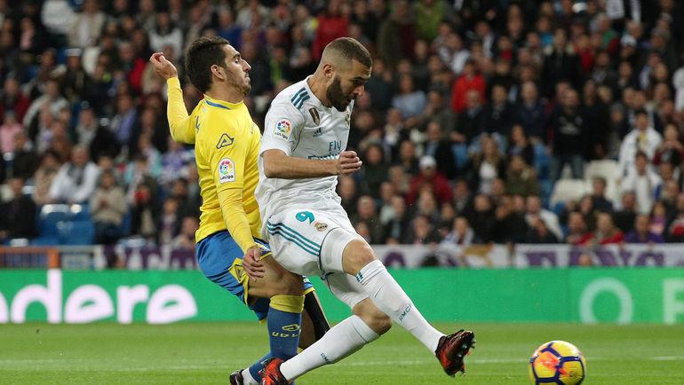 """Воскресенье. Мадрид. """"Реал"""" - """"Лас-Пальмас"""" - 3:0. Карим БЕНЗЕМА. Фото REUTERS"""