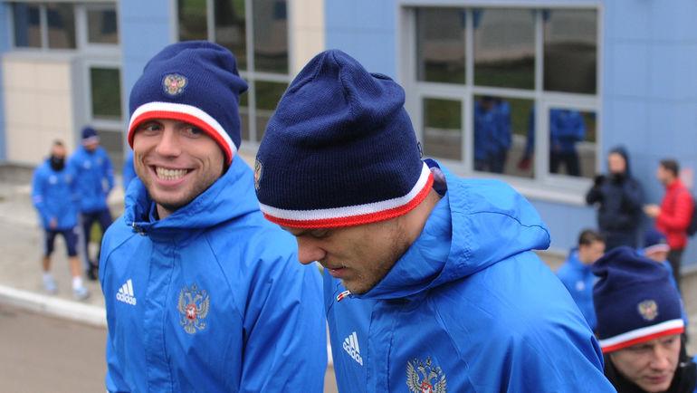 "Денис ГЛУШАКОВ (слева) и Александр КОКОРИН. Фото Александр ФЕДОРОВ, ""СЭ"""