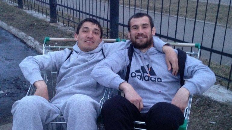 Ибрагим БАЗАЕВ (слева), Игорь БАЛДИН. Фото VK.com