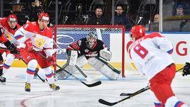 Вторник. Суифт-Каррент. Россия U-20 – Сборная WHL – 4:3. Россияне взяли реванш за вчерашний разгром.