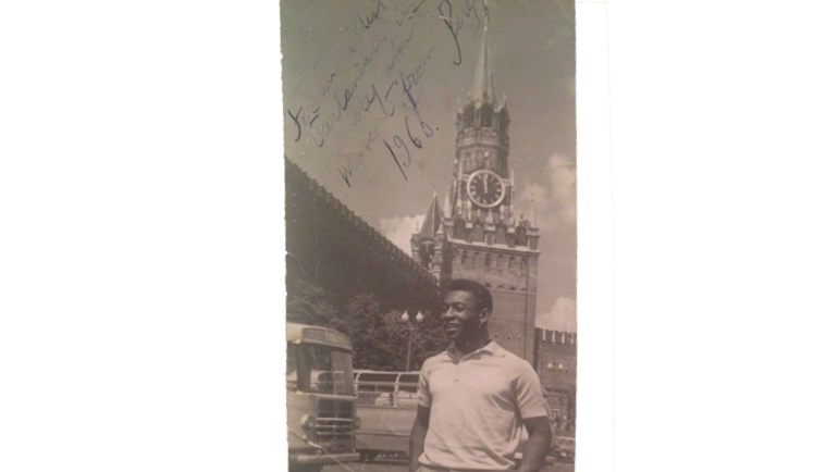1965 год. ПЕЛЕ на Красной площади.