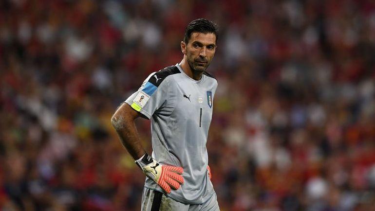 Капитан сборной Италии Джанлуиджи БУФФОН. Фото AFP