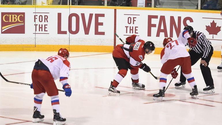 Четверг. Оуэн-Саунд. Сборная России (U-20) - сборная OHL - 5:2.