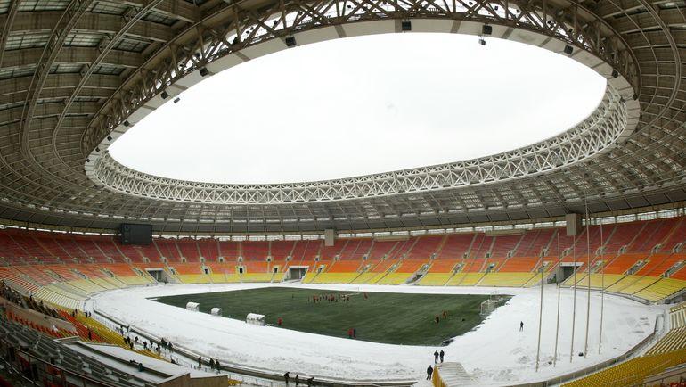 """2006 год. Стадион """"Лужники"""". Фото Юрия ШИРОКОГОРОВ"""