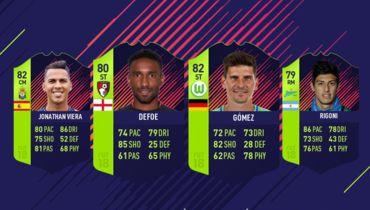 В FIFA 18 добавлена специальная карточка Ригони