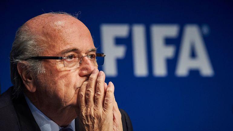 Бывший президент ФИФА Йозеф БЛАТТЕР. Фото AFP
